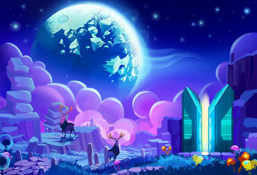 La nouvelle humanité, la terre nouvelle