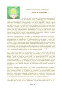 Méditation-channeling Mardi 28 Août 2018 à 18h30 @ Foyer Dannenberger | Vendenheim | France