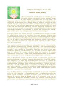 Atelier : Samedi 24 Novembre 9h30 à 12h00 : La manifestation de l'Être @ Chez Christine BRUYAT | Vendenheim | Grand Est | France